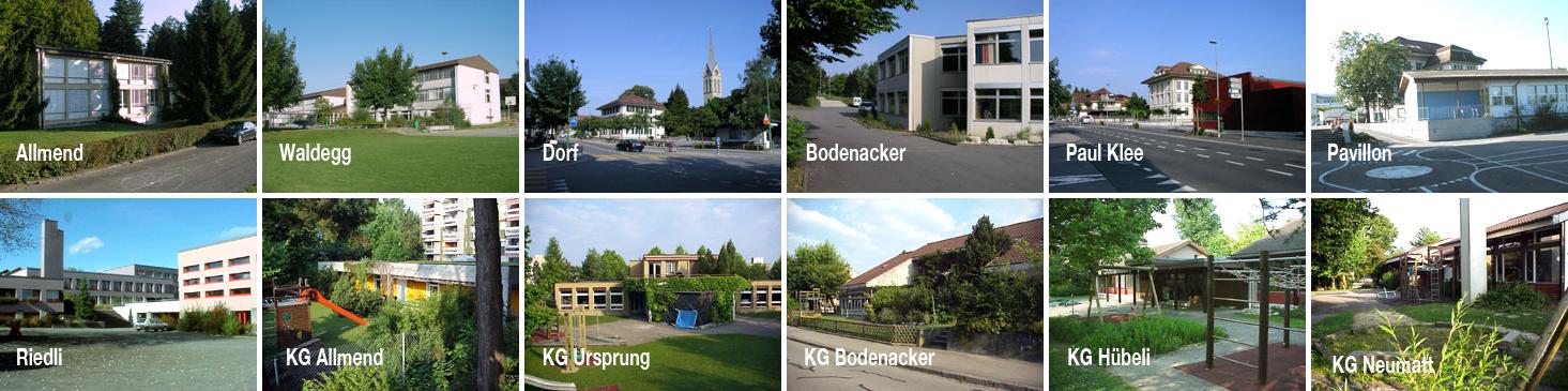 Schulhäuser und KG Leiste